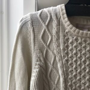 Banana Republic // Fisherman's Sweater